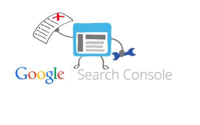 Errores Search Console