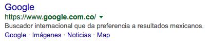 resultados google colombia