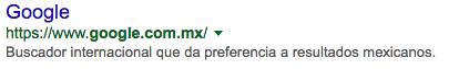 resultados google méjico