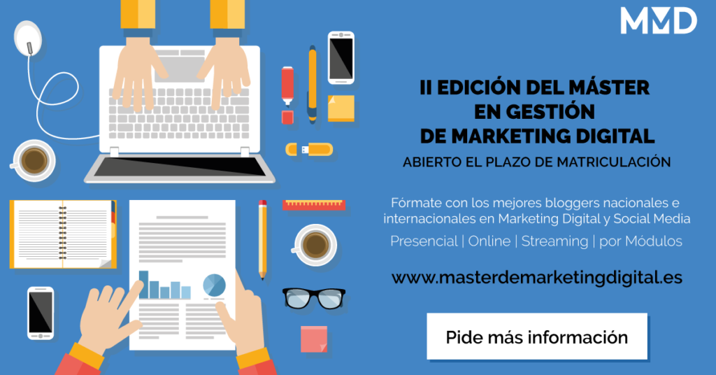 II Edición del Master en Gestión de Marketing Digital