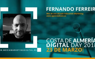 Indexando Marketing, en el Congreso Costa de Almería Digital Day